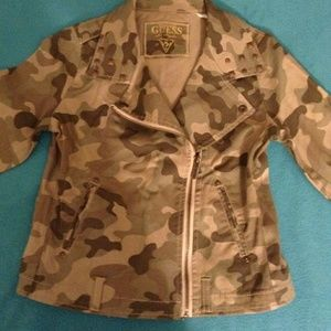 Guess Kid's Camouflage Jacket